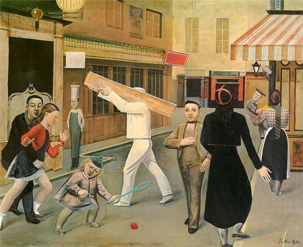 Balthus - the-street-1933.jpg!HD
